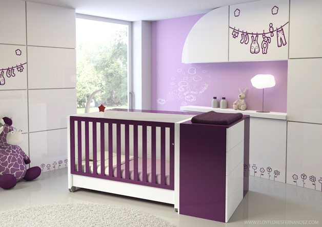 Dise o 3d para catalogo muebles infantil eloy flores for Diseno de muebles software